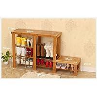 TLMY シンプルなモダンな庭の収納靴のベンチ 靴箱 (色 : Carved Shape, サイズ さいず : 127 * 27 * 70cm)