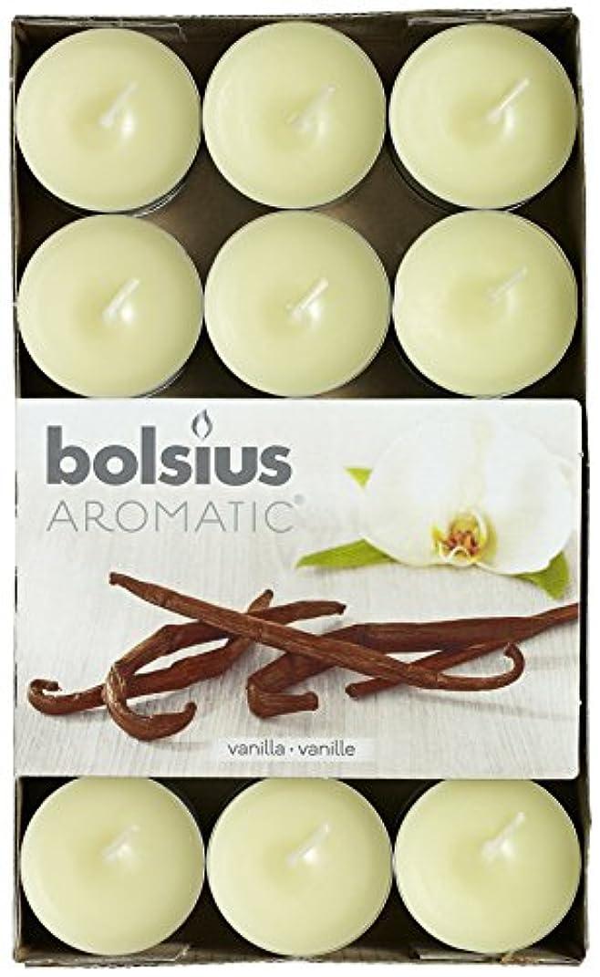 温帯デジタル伝染性Aromatic Vanilla Scented Tealight, Paraffin Wax, Vanilla by Aromatic