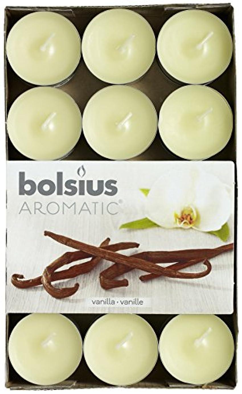 揃える獲物昼食Aromatic Vanilla Scented Tealight, Paraffin Wax, Vanilla by Aromatic