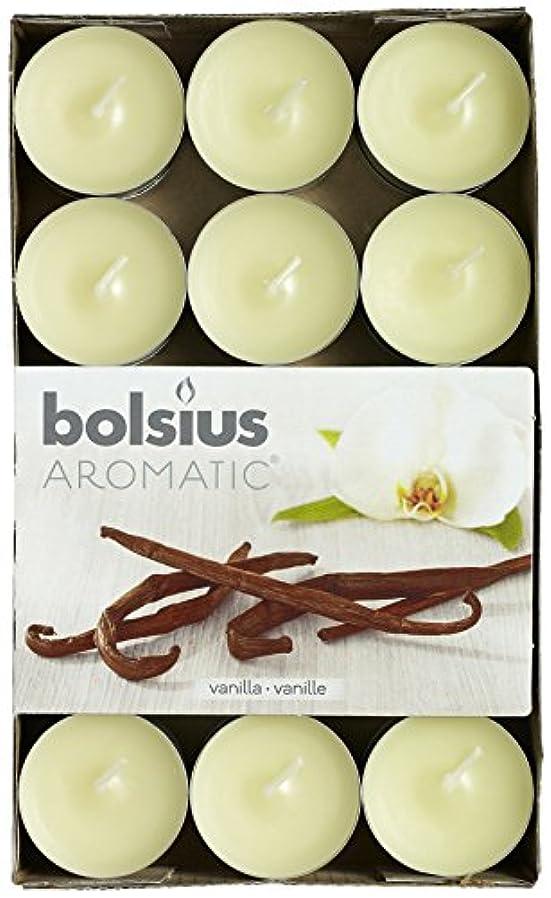献身ランデブー大気Aromatic Vanilla Scented Tealight, Paraffin Wax, Vanilla by Aromatic