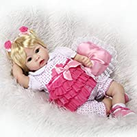 SanyDoll Rebornベビー人形ソフトSilicone 22インチ55 cm磁気Lovely Lifelike Cute Lovely Baby b0763knzv9