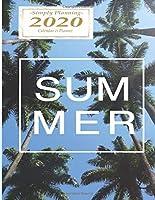 Summer: 8.5 x 11 Premium Travel 2020 Calendar and Planner   Plan Your World Trip or Domination