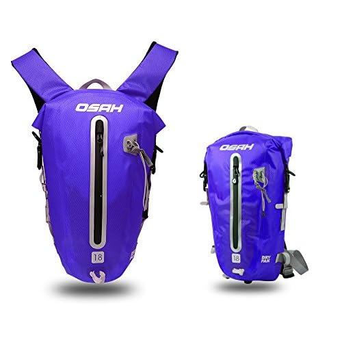 CYCLINGNET 防水(IPX6)パック DRY PAK バックパック ロードバイク 自転車 サイクリング用 (B14602-18L-BLUE)