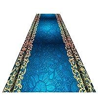 ZEMIN 廊下敷きカーペッ 柔らかい 快適 感じ 長いです カーペット 吸湿性 通気性がある、 カスタマイズ可能なサイズ (色 : A, サイズ さいず : 0.6x4m)