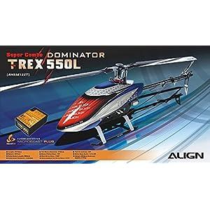 ALIGN(アライン) RH55E12XT T-REX 550L Dominator スーパーコンボ/マイクロビースト プラス 付