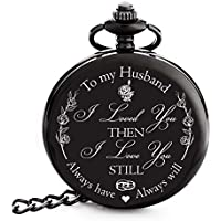"Anniversary Gifts for Men -""To my Husband"" Best Husband Gifts from Wife for Christmas, Birthday 