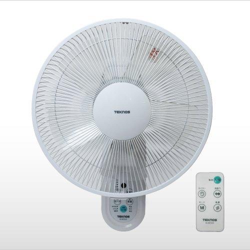 TEKNOS(テクノス)『DCモーター 壁掛け扇風機 KI-DC333』