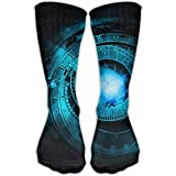 Women's Men's Classics Socks Astrology Night Sky Athletic Stockings 30cm Long Sock One Size