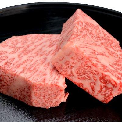 松阪牛 ロース芯だけステーキ                     【 サーロイン ステーキ 芯 お祝 お中元 お歳暮 引き出物 牛肉 和牛 松坂牛 】 (4枚)