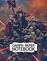 Notebook: American Epic Star Wars Science Fiction Adventure Fictional Universe Humans And Aliens Space Travel,Teenage Girls Boys Kids Adults Elementary Supplies Student Teacher Daily Creative Writing Soft Glossy Graph Paper 110 Pages 8.5 x 11 Inches