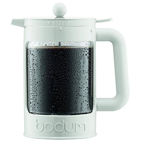 BODUM ボダム BEAN フレンチプレス アイスコーヒーメーカー 1.5L オフホワイト K11683-913