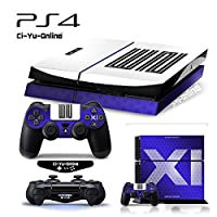 Ci-Yu-Online VINYL SKIN [PS4] ShoeBox #5 Air Jordan 11 Retro Shoe Box Light Bar Whole Body VINYL SKIN STICKER DECAL COVER for PS4 Playstation 4 System Console and Controllers [並行輸入品]