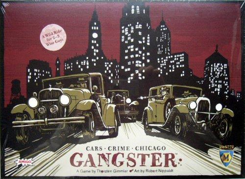 ギャングスター (Gangster) 英語版 ボードゲーム