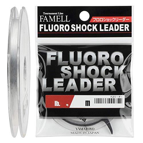 リーダー フロロショックリーダー フロロカーボン 30m 1.2号 5lb クリア
