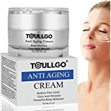 Anti Aging Face Cream for Women, Anti-Wrinkle Cream, Facial Moisturizing Cream Contain Anti Aging Formula Reduces Look of Wrinkles, Fine Lines For Face and Eye Area 30ml