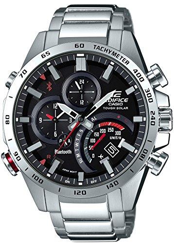 [カシオ]CASIO 腕時計 エディフィス TIME TRAVELLER スマートフォンリンクモデル EQB-501XD-1AJF メンズ