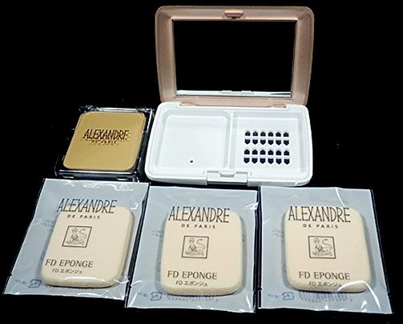 視力休み装置アレクサンドル ドゥ パリ タン フィット エ ヴェール60&専用コンパクトケース&エポンジュ セット