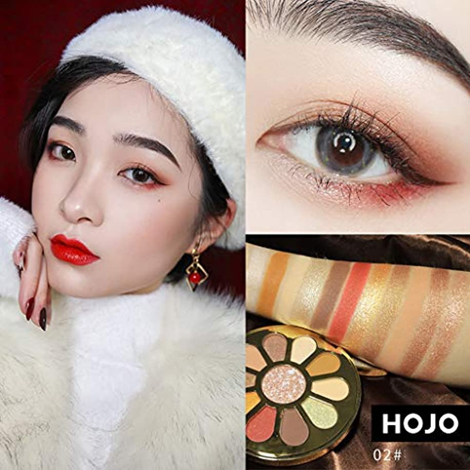 湿度名門ナンセンスAkane アイシャドウパレット HOJO ファッション 魅力的 高級 美しい 優雅な 花 綺麗 キラキラ 素敵 持ち便利 日常 Eye Shadow (11色) 8031