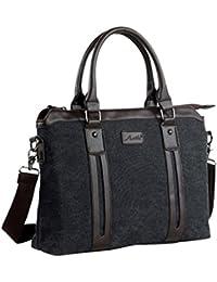 [D-SACK] 2way メンズ ビジネス バッグ 肩掛け トート バック A4 サイズ キャンバス 帆布 ショルダー ブリーフ ケース 書類 通勤 通学 学生 鞄