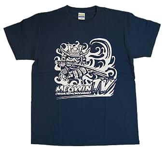 MEGWIN TV Tシャツ サムライ ネイビー (L)