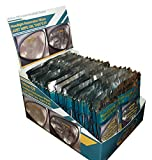 25 Headlight Cleaner and Lens Restoration Wipes with Display Case