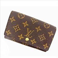 ルイヴィトン Louis Vuitton L字ファスナー財布 二つ折り ユニセックス ポルトモネビエトレゾール M61730 モノグラム 中古 (激安?人気) Y411