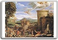 Annibale Carracci - The Martyrdom Of St Stephen clasic art fridge magnet - 蜀キ阡オ蠎ォ逕ィ繝槭げ繝阪ャ繝