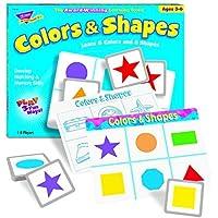 トレンドt58103トレンド色と図形と一致Meゲーム、Ages 3 – 6 byトレンド