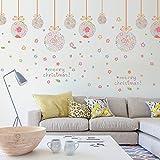 ウォールステッカー クリスマス 2016 店舗装飾 子供部屋 リビング 壁紙 きれいに 剥がせる 壁 オーナメント インテリア デコレーション