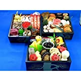 Fake Food Japan (フェイクフードジャパン) 和食おせち和3段 食品サンプル