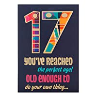 ホールマーク17日誕生日Age 17 Greeting Card ' Do Your Own Thing ' – Medium