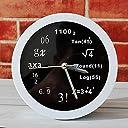 どのように-目覚まし時計@工芸数学の数式方程式デスククロックデスク目覚まし時計テーブルクロッククリエイティブホームデコレーションファッションミュートウォッチ