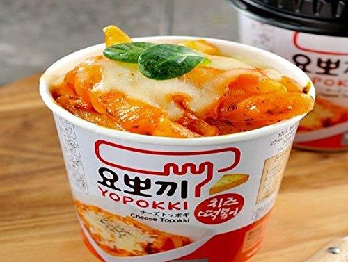 【ヘテ ヨポキ】 即席カップチーズトッポキ (120g)カップ トッポキ【韓国食品/通販/お餅/韓国食材/韓国料理/韓国トッポキ 】