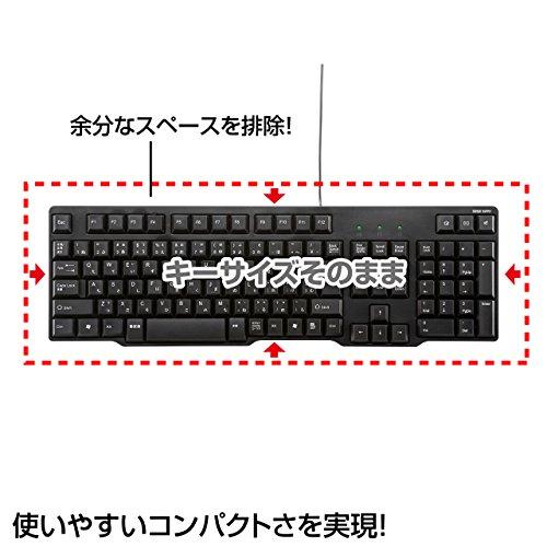 サンワサプライ『USBキーボードSKB-L1UBK』