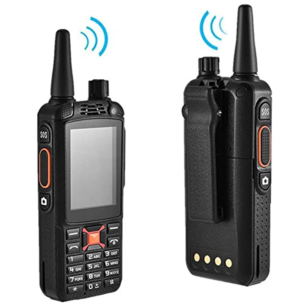 座標支配する堂々たるVBESTLIFE 2.4インチトランシーバー3500mAhの16時間のSOS 4.4.2 3GデュアルSIM、オートフォーカス、無線LAN、無線、内蔵フラッシュ、SIMカードスロット、音楽再生、携帯電話サポート、タッチスクリーン機能トランシーバーのAndroidとして デフォルト