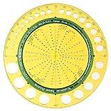 ドラパス サークルルーラーD-1101 33-041