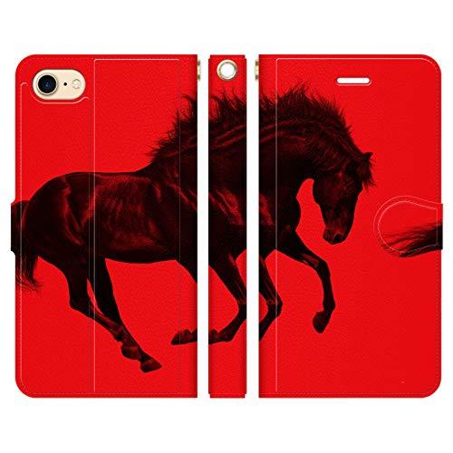iPhone8 iPhone7 手帳型 ケース カバー RE...