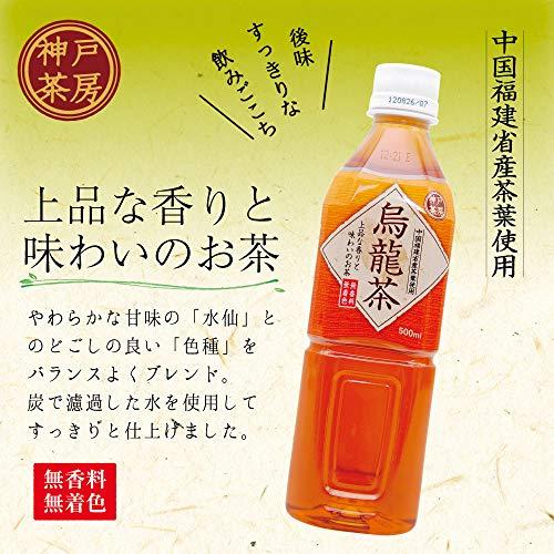 神戸居留地 烏龍茶 ペット 500ml