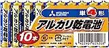 アルカリ乾電池 単4形 10本パック LR03N/10S