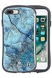 iPhone7 Plus iPhone7Plus ケース カバー iFace First Class Marble ストラップホール付き 正規品 / ブルー