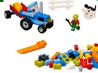 LEGO レゴ 基本セット・青いコンテナ 4626