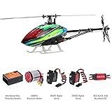 GoolRC ALIGN T-REX 450L スーパーコンボ 3D 6CH RC ヘリコプター マイクロビーストプラスフライバーレス6Sパワーシステム搭載