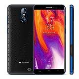 HOMTOM S12 スマートフォン 本体 5.0インチ 携帯電話 18:9フルスクリーン3G WCDMA Android 6.0 1GB + 8GB 5MP + 8/2MPバックデュアルカメラ 大容量 高速充電 電力モード KKmoonスタンドつき 国内用充電器つき 4color