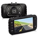 MPTECK ドライブレコーダー 車載カメラ HD LCD液晶 Gセンサー 動体検知暗視機能 搭載 フルHD 1080P録画 常時録画 衝撃録画 スイッチ録画 音声録音
