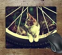 かわいい猫子猫キティ-コンピューター滑り止めマウスパッドマウスパッドマウスマットマットパッド