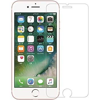 Homefunny For iPhone 7 4.7インチ用 強化ガラス液晶保護フィルム 【3D Touch対応 / 硬度9H / 気泡防止/飛散防止 指紋防止 高感度タッチ 自動吸着貼りやすい】