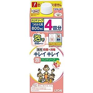 キレイキレイ 薬用 泡ハンドソープ フルーツミックスの香り 詰め替え特大サイズ 800ml(医薬部外品)