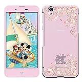 「Breeze-正規品」iPhone ・ スマホケース ポリカーボネイト [透明-Pink] ィズニーモバイル DM-01Jケース Disney Mobile on docomo DM-01J カバー ハードケース[DM-01J]