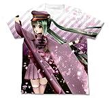 千本桜 あぴミク千本桜フルグラフィックTシャツ ホワイト サイズ:M