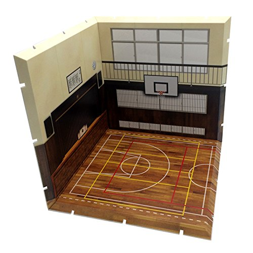 じおらまんしょん150 体育館 ノンスケール ABS製 組立て式背景パネル